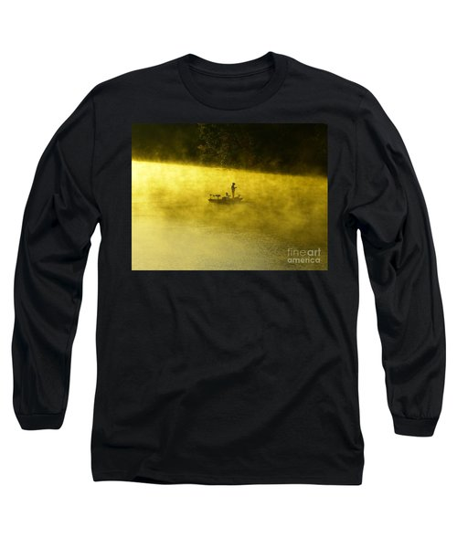 Fishing The Prettyboy Reservoir Long Sleeve T-Shirt
