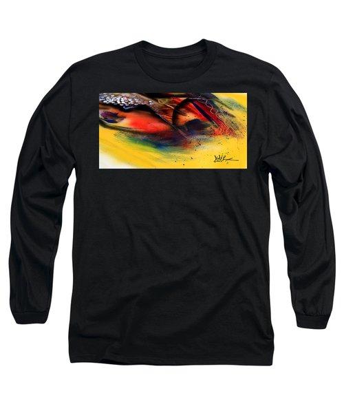 Fishtail Abstract Long Sleeve T-Shirt