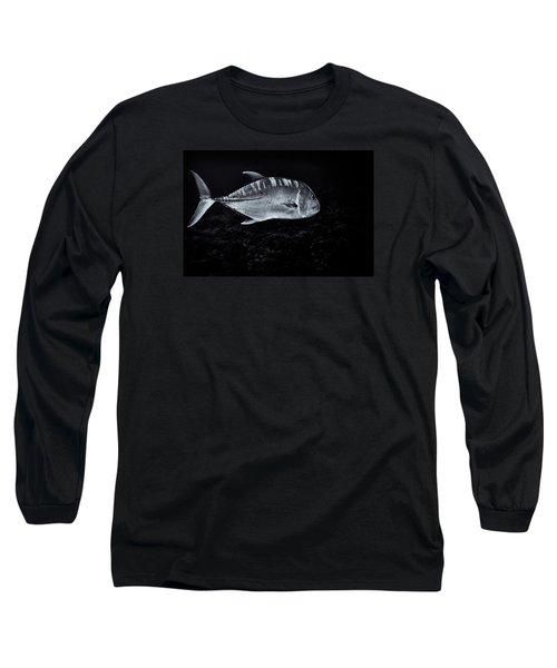 Fla-150811-nd800e-26063-bw-selenium Long Sleeve T-Shirt by Fernando Lopez Arbarello