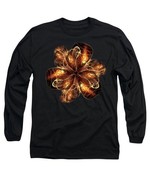 Flame Flower Long Sleeve T-Shirt