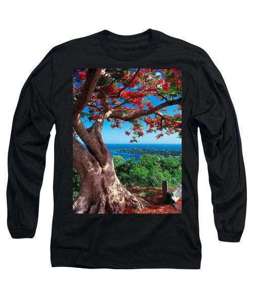 Flame Tree St Thomas Long Sleeve T-Shirt