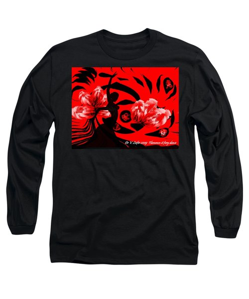 Flamenco-fairy Dance Long Sleeve T-Shirt