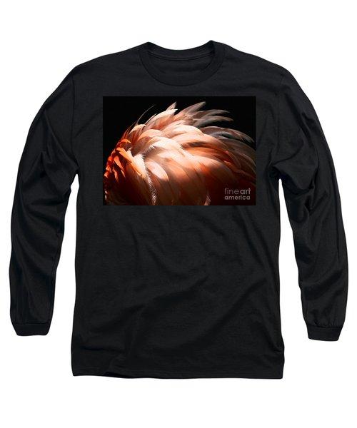 Flamingo Feathers Long Sleeve T-Shirt