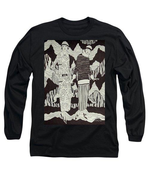 Flapper Girls Long Sleeve T-Shirt