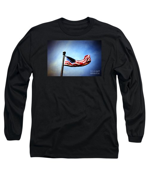 Flight Of Freedom Long Sleeve T-Shirt
