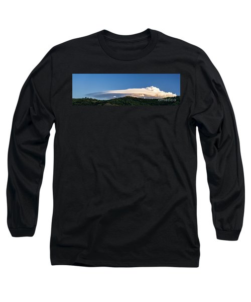 Flight Of The Navigator Long Sleeve T-Shirt by Giuseppe Torre