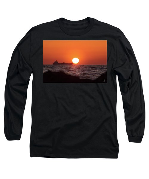 Floating Around The Sun Long Sleeve T-Shirt