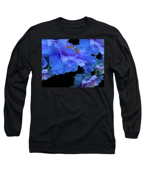 Floating Bouquet 10 Long Sleeve T-Shirt by Lynda Lehmann