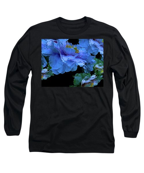 Floating Bouquet 14 Long Sleeve T-Shirt by Lynda Lehmann