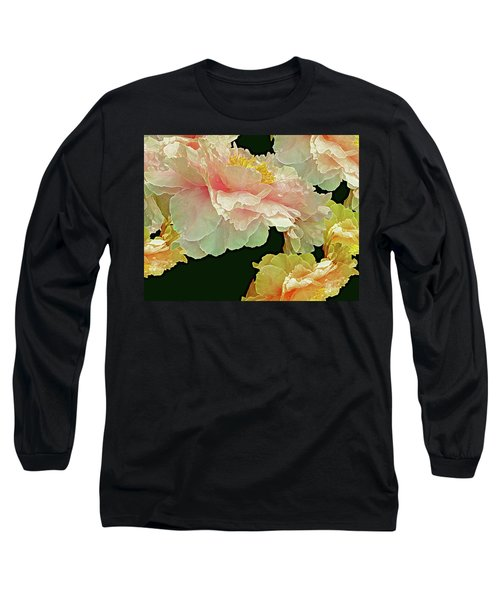Floating Bouquet 31 Long Sleeve T-Shirt by Lynda Lehmann