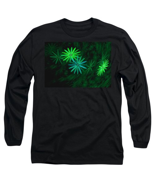 Floating Floral-007 Long Sleeve T-Shirt