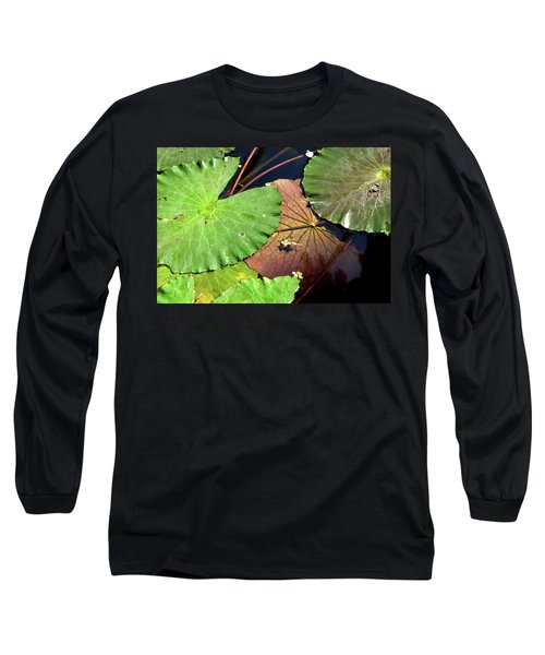 Floating Lily Pads Long Sleeve T-Shirt