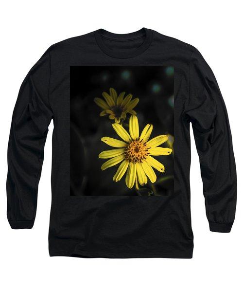 Flora In Yellow Long Sleeve T-Shirt