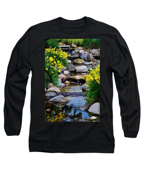 Floral Creek Long Sleeve T-Shirt