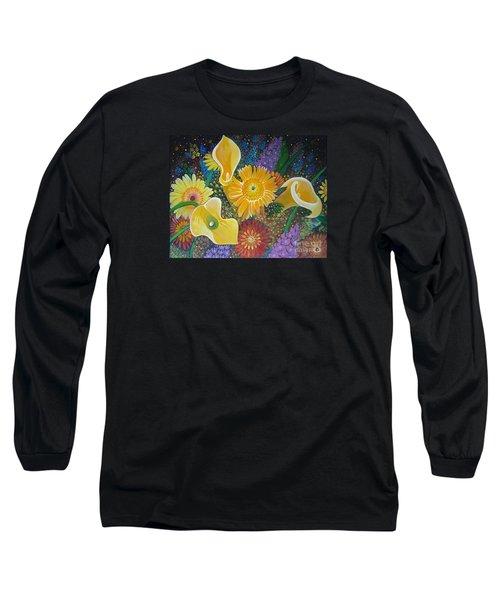 Floral Fireworks Long Sleeve T-Shirt