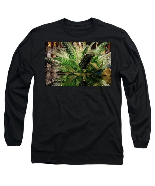 Floral In Glass Long Sleeve T-Shirt