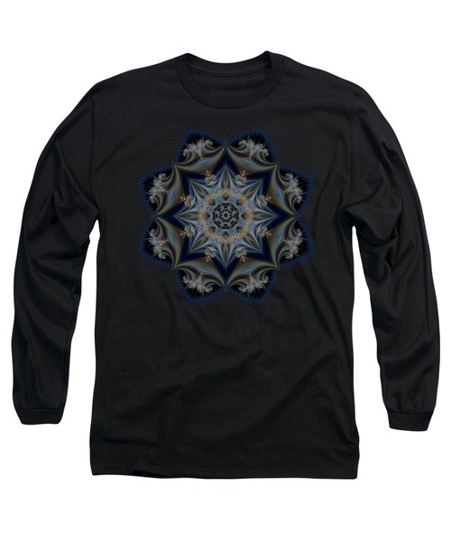 Floral Mandala Long Sleeve T-Shirt