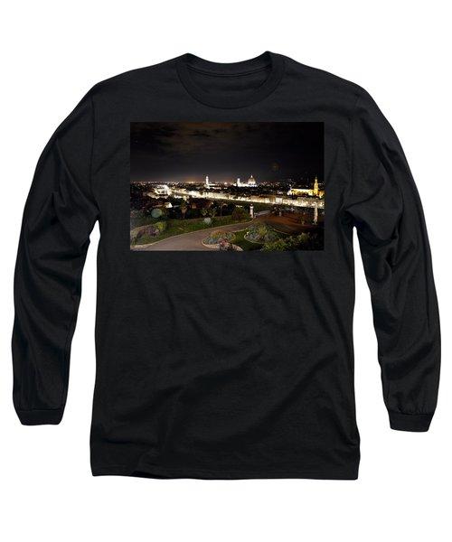 Florence At Night Long Sleeve T-Shirt