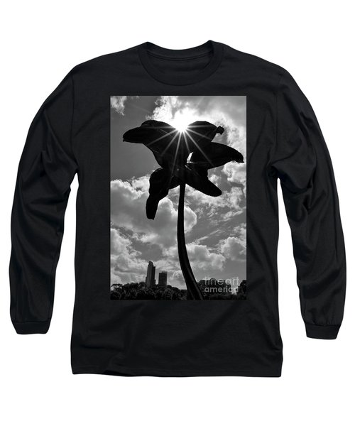 Long Sleeve T-Shirt featuring the photograph Flower Art by Zawhaus Photography