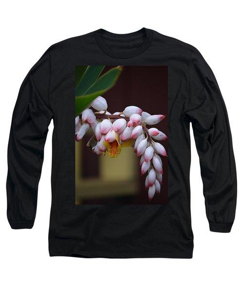 Flower Buds Long Sleeve T-Shirt by Lori Seaman