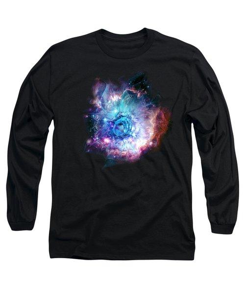 Flower Nebula Long Sleeve T-Shirt