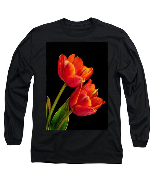 Flower Of Love Long Sleeve T-Shirt by David and Carol Kelly