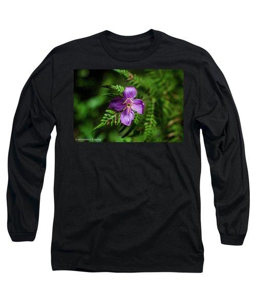 Flower On The Fern Long Sleeve T-Shirt