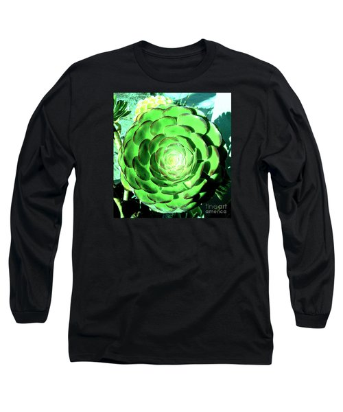 Long Sleeve T-Shirt featuring the photograph Flower Pattern Of Life by Vanessa Palomino