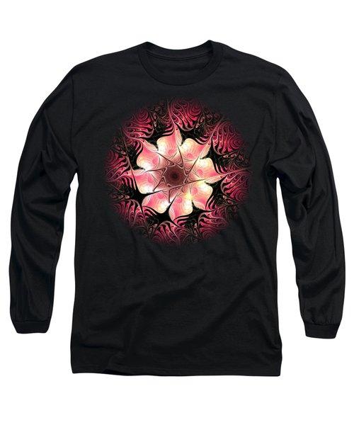 Flower Scent Long Sleeve T-Shirt by Anastasiya Malakhova