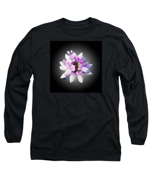 Flower  Securigera Varia Long Sleeve T-Shirt by Mike Breau