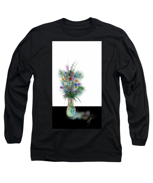 Flower Study One Long Sleeve T-Shirt