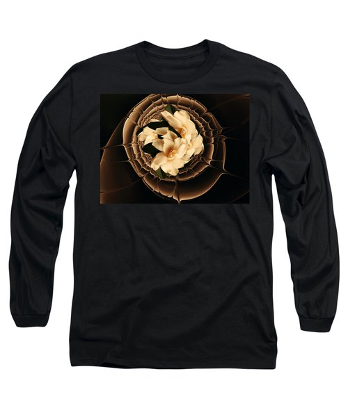 Flowers And Chocolate Long Sleeve T-Shirt