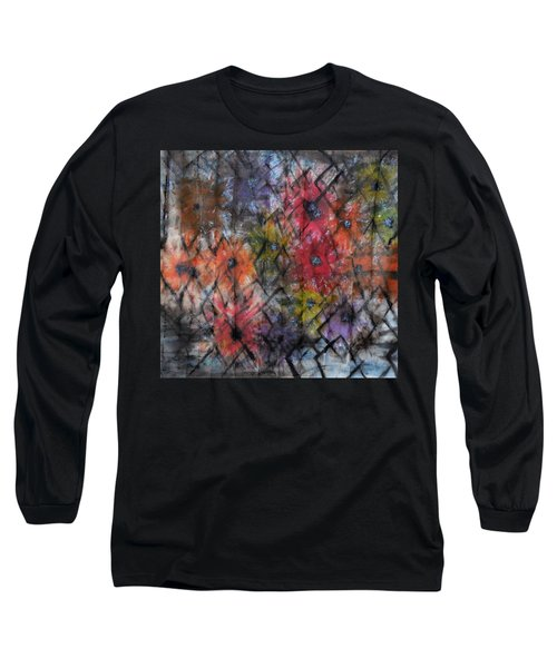 Flowers And Diamonds Long Sleeve T-Shirt