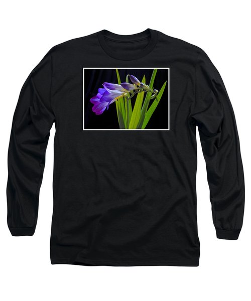 Flowers Backlite. Long Sleeve T-Shirt