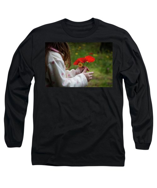 Long Sleeve T-Shirt featuring the photograph Flowers by Bruno Spagnolo