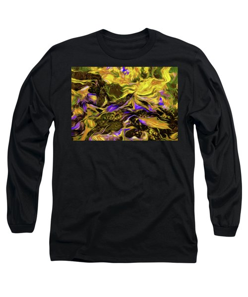 Flowers In The Garden Long Sleeve T-Shirt