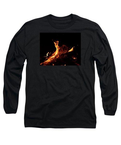 Flowing Long Sleeve T-Shirt by Janet Rockburn