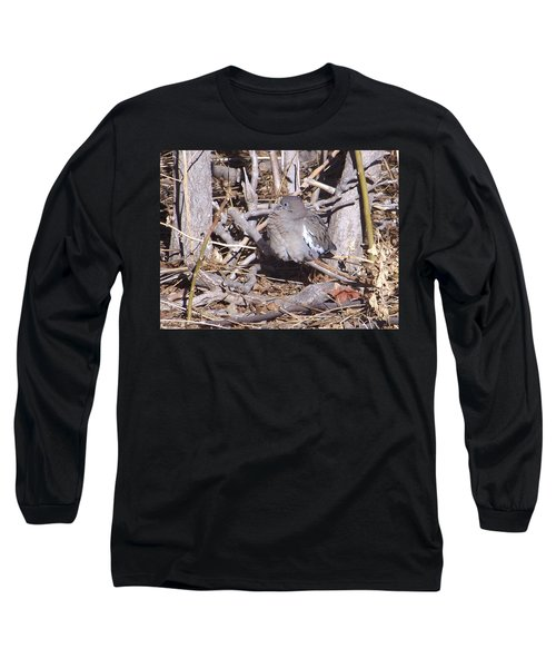 Fluffy Dove Long Sleeve T-Shirt