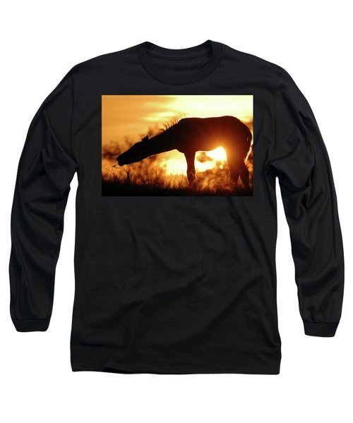 Foal Silhouette Long Sleeve T-Shirt