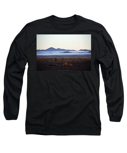 Fog In The Peloncillo Mountains Long Sleeve T-Shirt