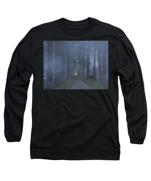 Foggy Hallowed Ground Long Sleeve T-Shirt by Kimo Fernandez