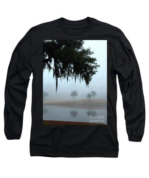 Foggy Morn Reflections Long Sleeve T-Shirt