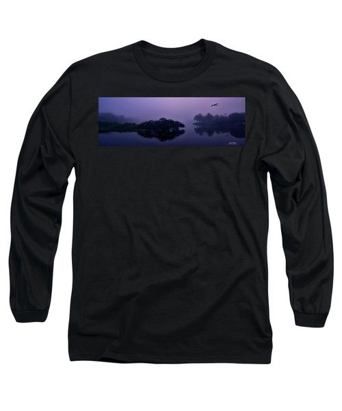 Long Sleeve T-Shirt featuring the photograph Foggy Morning by Don Durfee