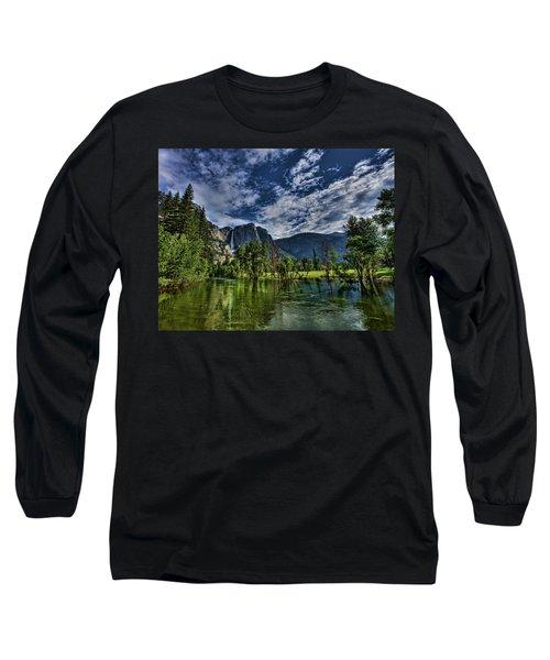 Follow The River Long Sleeve T-Shirt