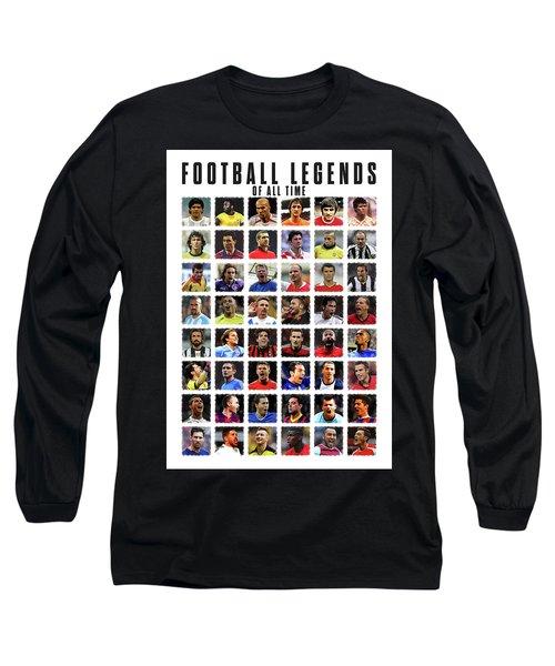 Football Legends Long Sleeve T-Shirt