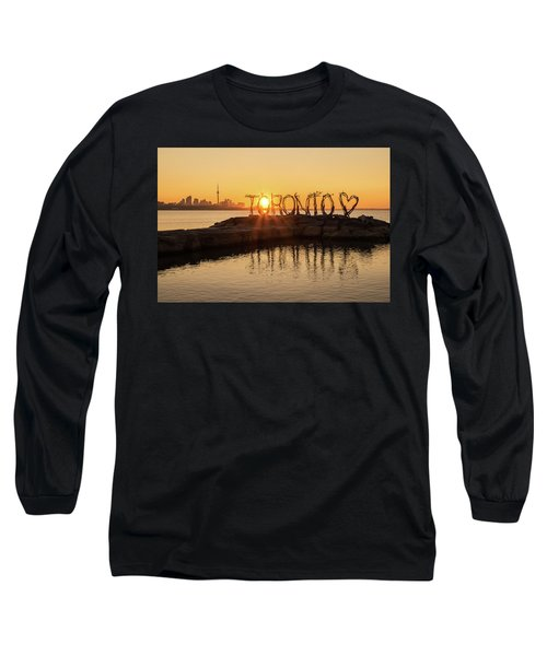 For The Love Of Toronto Long Sleeve T-Shirt