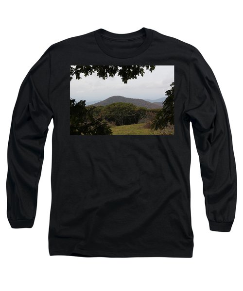 Forest Dark Space Long Sleeve T-Shirt