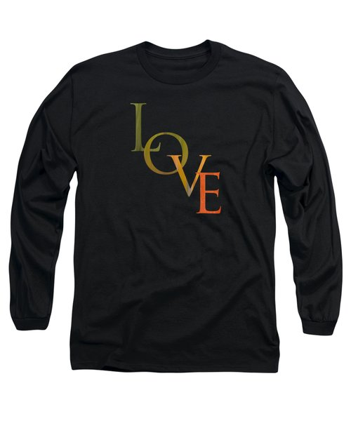 Forest Illusions- Love Long Sleeve T-Shirt