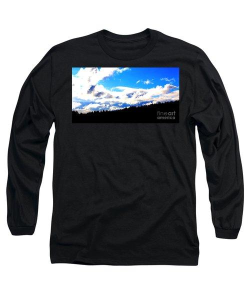 Forest Storm Long Sleeve T-Shirt