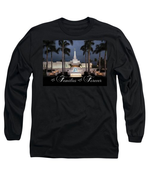 Forever Families Long Sleeve T-Shirt by Denise Bird